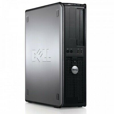 Windows 7 Dell AMD Dual Core Desktop Tower PC Computer - 4GB RAM - 250GB HDD
