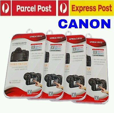 Lynca Japanese Tempered Glass Screen Ptotector For Canon Dslr Premium Au Stock