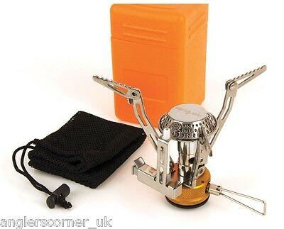 Fox Cookware Cannister Stove With Carry Bag / Accessories / Fishing