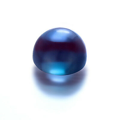 Lab Created Pulled Alexandrite Color Change Round Cabochon(2mm-20mm)Loose Stones