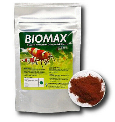 Genchem Biomax Size 1 (Baby) Complete Food for Crystal Tiger Cherry Shrimp