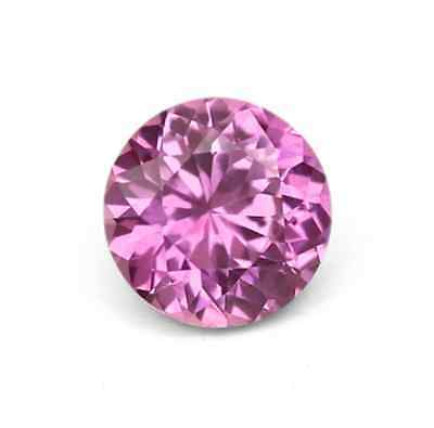 Natural Pink Sapphire Round Diamond Cut (1.2mm - 6.0mm) Loose Gemstones