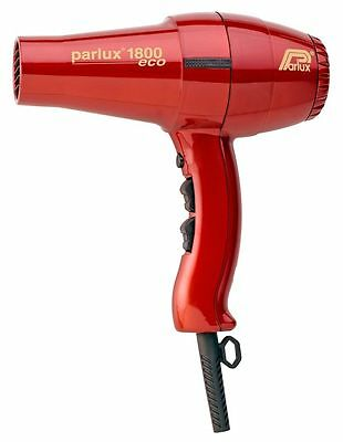 PARLUX 1800 Eco Edition Hair Dryer - Red