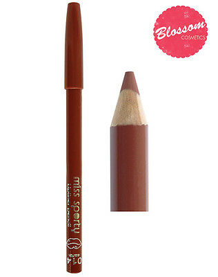 Miss Sporty LIP LINER NUDE BROWN Lip pencil 014 Earth NEW
