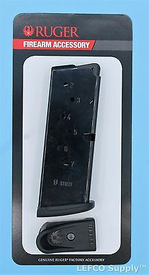 Ruger LC9 LC9s EC9s Magazine w/Extension 7-Round RD 9mm Genuine OEM Mag 90363