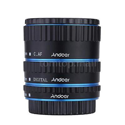 Andoer Colorful Metal TTL Auto Focus AF Macro Extension Tube Ring for Canon R9ZX