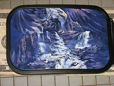 Collect Hot Buckles Winter river canyon Eagle Wolf Clouds spirit dark Storm life