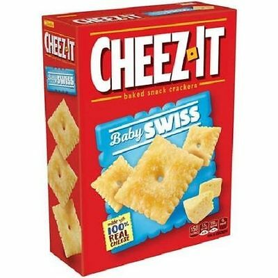 Cheez-It Baby Swiss Baked Snack Crackers