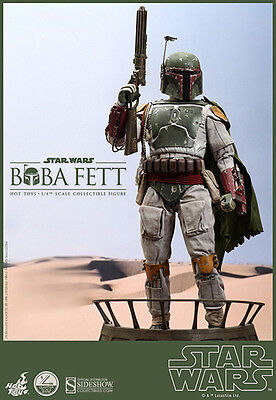 Boba Fett Bounty Hunter Star Wars Return of the Jedi 1/4 Figur QS03 Hot Toys