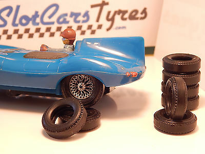 8 rear tires for STROMBECKER 1960 - USA