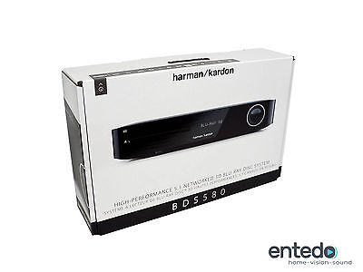 Harman Kardon BDS 580 5.1 3D Blu-ray AV-Receiver Bluray Airplay Youtube Schwarz