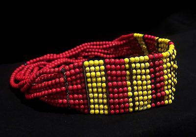 Authentic Beaded Necklace – Dassanech Tribe – Omo Valley, Southern Ethiopia