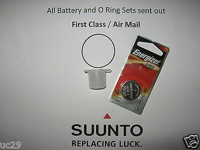 Energizer battery & O-ring set Suunto D6 and D6i computers + grease