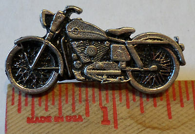 Vintage Harley XLCH Ironhead Sportster pin motorcycle collectible old biker vest