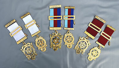 Masonic Royal Arch Breast Jewel - Companions Principal Provincial Your Choice