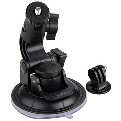 Suction Cup Car Glass Window Mount + Tripod Adapter for GoPro 1 2 3 SY0AU