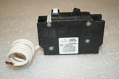 Cutler Hammer QCGF1015 15-Amp Quicklag Ground Fault Circuit Breaker Westinghouse