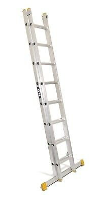 Lyte Trade Aluminium  Extension Ladder - Double Section - 3.42m - 5.94m | ELT235