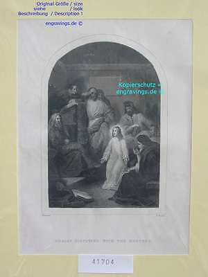 41704-Bibel-Bible-JESUS-CHRIST-Doctor-Stahlstich-Steel engraving-1860