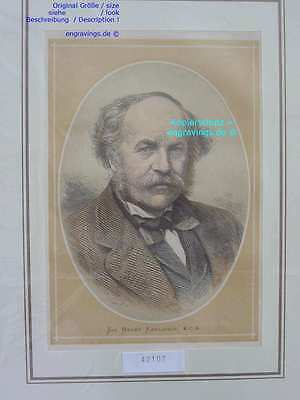 42107-Afrika-Africa-Portrait-SIR RAWLINSON-Lithographie-Lithography-1880