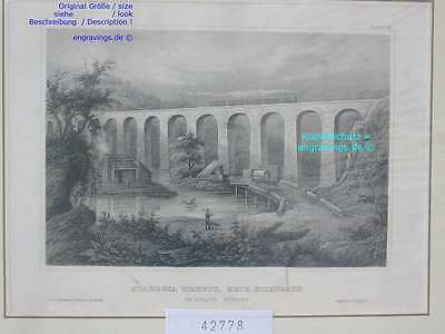 42778-Amerika-USA-United States-STARUCCA-NEW YORK-Stahlstich-Steel engraving-