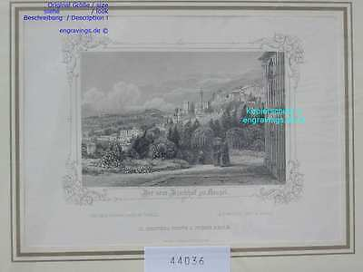 44036-Italien-Italy-Italia-NEAPEL-NAPOLI-NAPLES-Stahlstich-Steel engraving-1850