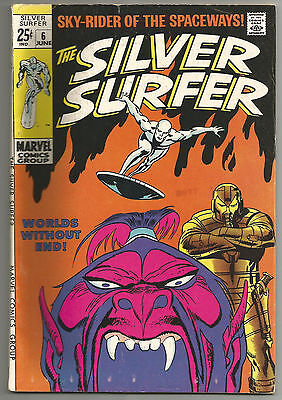 Silver Surfer 6 (4.0) Flat rate shipping for $3.59