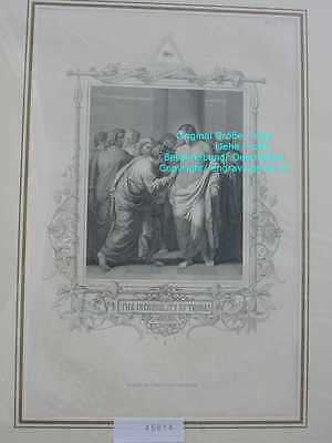 45814-Bibel-Bible-Jesus-CHRIST-INCREDULTY-THOMAS-Stahlstich-Steel engraving-1865