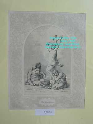 59040-Bibel-Bible-Jesus-Kreuzigung-Ornament-Stahlstich-Steel engraving