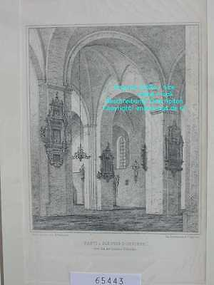 65443-Schleswig-Holstein-Schleswig Domkirche-Lithographie-Lithography-1875