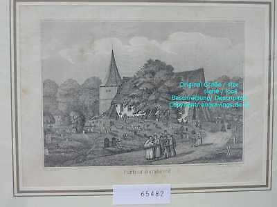 65482-Schleswig-Holstein-Bornhöved-Lithographie-Lithography-1864