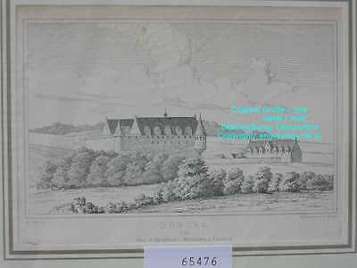 65476-Schleswig-Holstein-Duborg-Flensburg-Lithographie-Lithography-1875