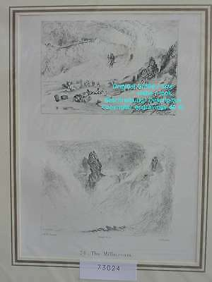73024-Ruskin-Modern Painters-Malerei-Turner-Stahlstich-Engraving-The Millstream