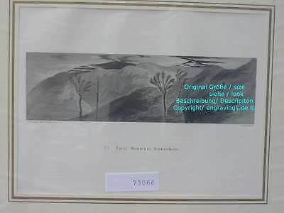 73066-Ruskin-Modern Painters-Malerei-Early Mountain Naturalism-Stahlstich-Steel