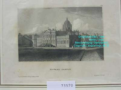 73570-GB-UK-England-Great Britain-Howard Castle-Stahlstich-Steel engraving-1836