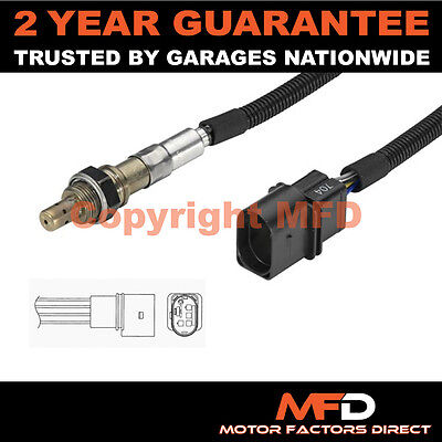 Audi A2 1.4 (2000-) 5 Wire Front Lambda Oxygen Sensor Direct Fit Exhaust Probe