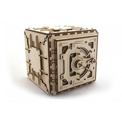 Mechanical 3D Safe puzzle - Educational Toy 3D Wooden Puzzles Moving Model 012
