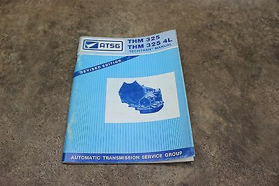 THM325 THM 325 4L Techtran Automatic Transmission Manual Revised Edition