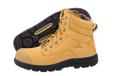 Ascent Safety Alpha 2 (4E) Wheat Workboots Boots | AUTHORISED DEALER