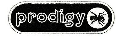 """Prodigy Breakbeat Rave Dance Embroidered Iron On Sew On Jacket Patch 3.8"""""""