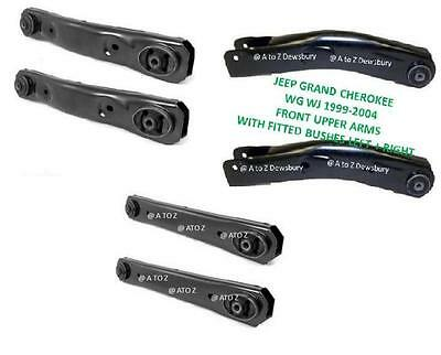 Jeep Grand Cherokee Wj Wg 1999-2004 Front Upper Lower & Rear Lower Control Arms