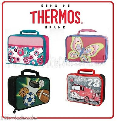 ❤ Thermos Leak Proof Food Jar Container Insulated LUNCH Case Kit COOLER BAG ❤