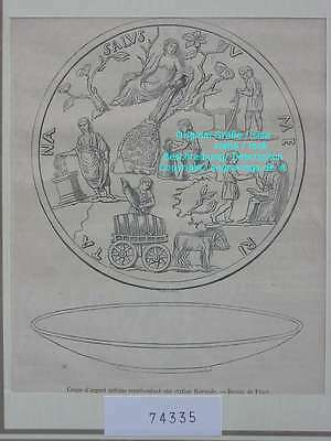 74335-Station Thermale antique-T Holzstich-Wood engraving