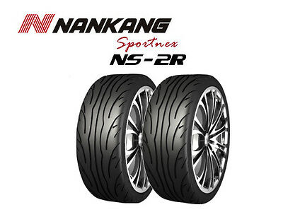 2x Nankang NS-2R Tyres - Track Day/Race/Road - 205/40 R17 84W - (180, STREET)