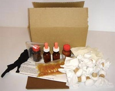 French Polishing Kit - with amber shellac