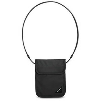 Pacsafe Coversafe X75 Anti Theft Rfid Blocking Neck Pouch (Black)