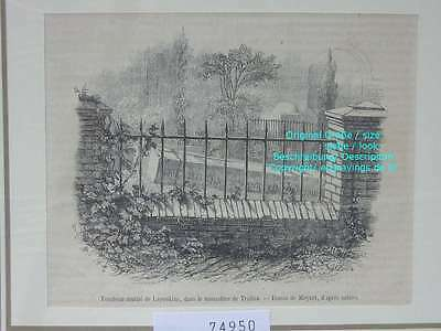 74950-Russland-Russia-Troitza-Lapoukine-T Holzstich-Wood engraving