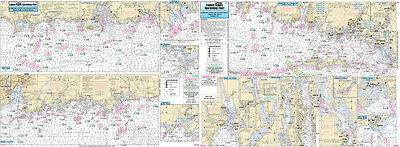 Fishing Map Coast of CT, Fisher's Island FI105-BC N. Atlantic