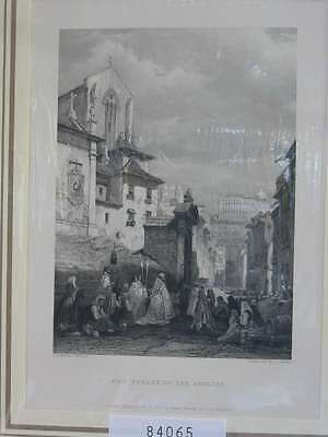 84065-Portugal-Portuguesa-Coimbra-Stahlstich-Steel engraving-1838