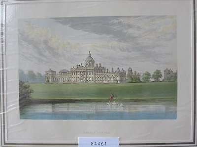 84461-GB-England-Great Britain-Castle Howard-Yorkshire-Lithographie-Lithography